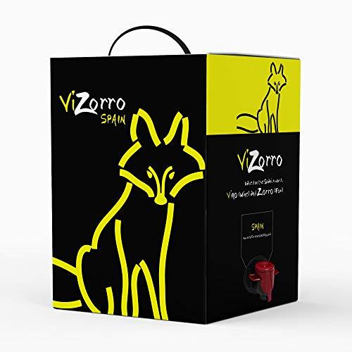 Bag in Box 5L I Vino rosso Vino rosso consigliato Box con rubinetto I Uve selezionate - Vino della terra di Castilla y León