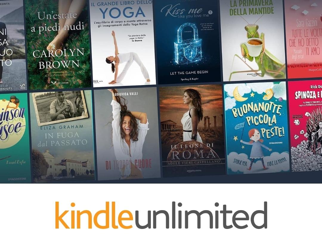 Amazon Kindle Unlimited Gratis 3 mesi