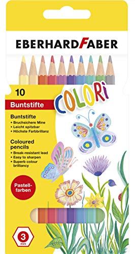Matite a colori Confezione da 10 Faber