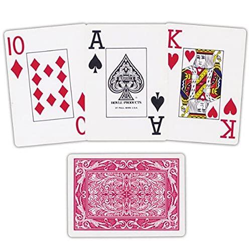 Carte da gioco XL, colori assortiti