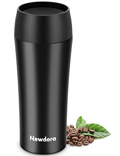 Newdora Termos Caffè, Tazza da Caffè da Viaggio 380ML