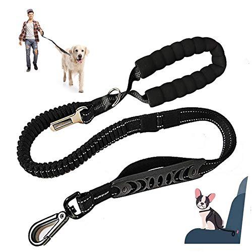 Guinzaglio per cani 3 in 1 con cintura di sicurezza