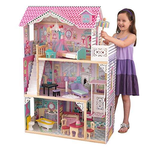 Casa delle bambole in legno 1,20 MT