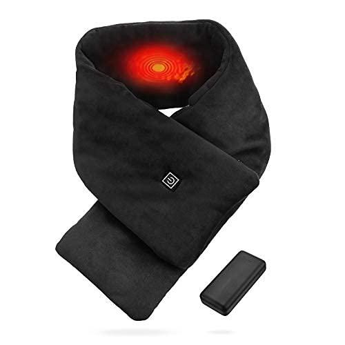 Sciarpa Riscaldata Invernale Elettrica USB in Cotone Lavabile