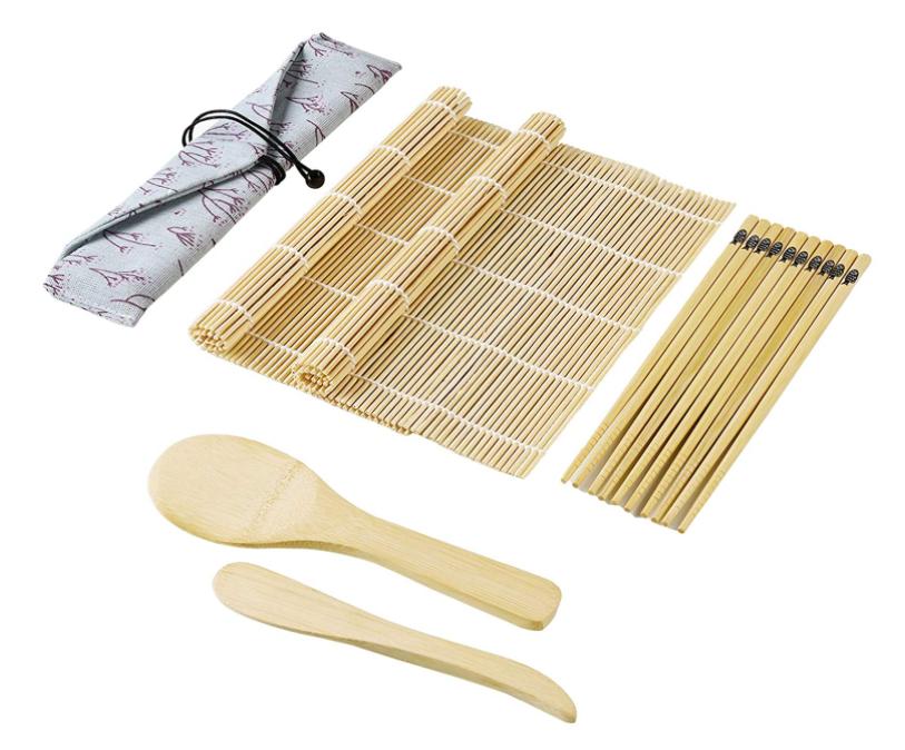 Kit per Sushi Bambù 10pz 4€