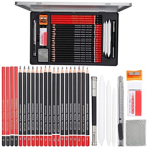Set di matite per schizzi