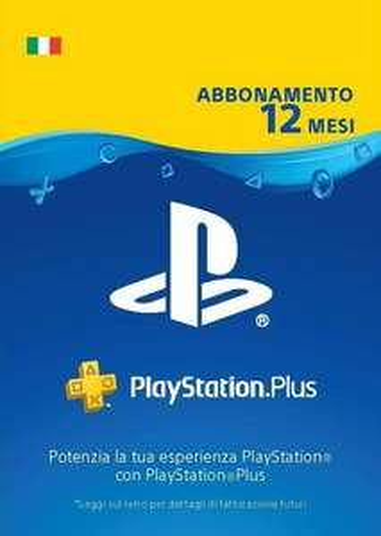 PlayStation Plus PSN - Abbonamento 12 Mesi