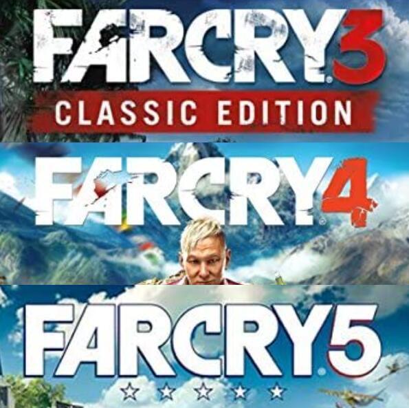 Far Cry 3 + Far Cry 4 + Far Cry 5 per PC