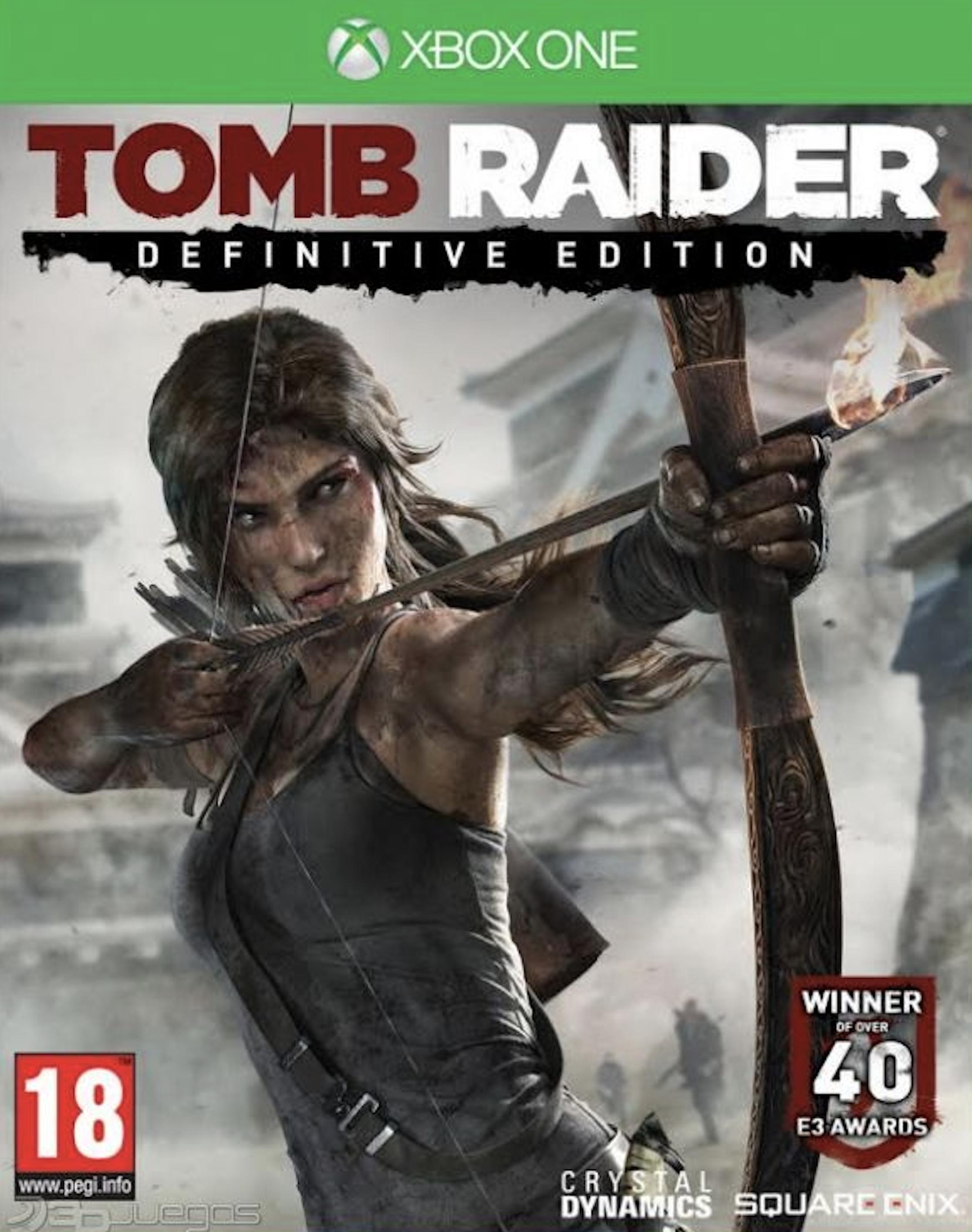 Tomb Raider Definitive Edition 2.9€ - Xbox