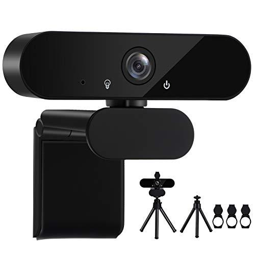 Webcam 1080P Full HD con Microfono Stereo