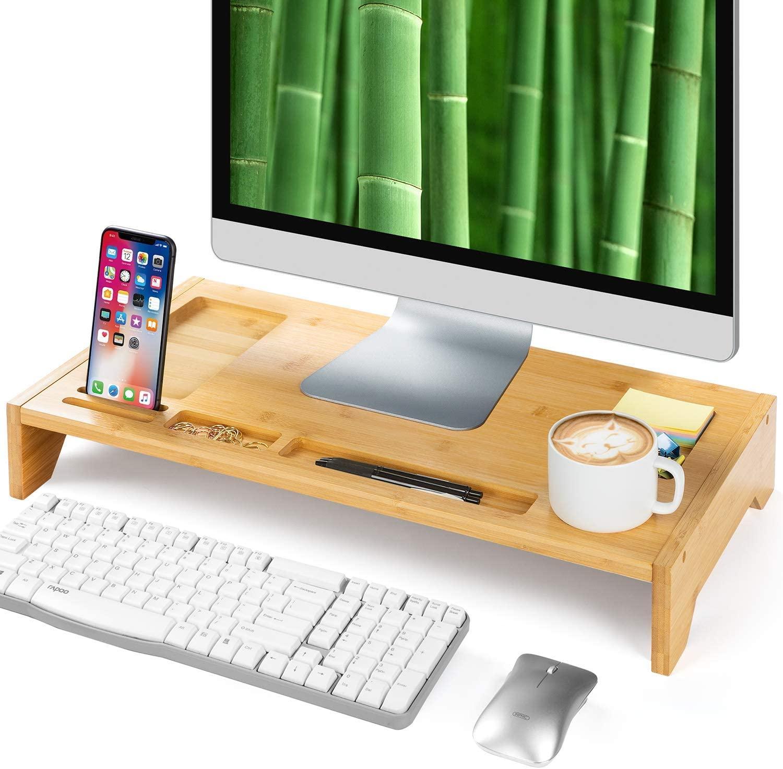 Supporto Monitor In Bambù 9.9€