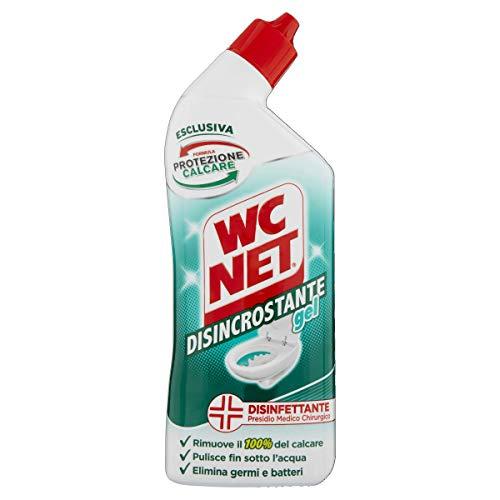 Wc Net Disincrostante Disinfettante Gel per Sanitari e Superfici, Pulitore Liquido per Wc, 700 ml