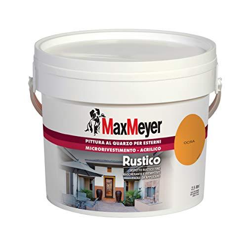 MaxMeyer Pittura per esterni Quarzo Rustico OCRA 2,5 L