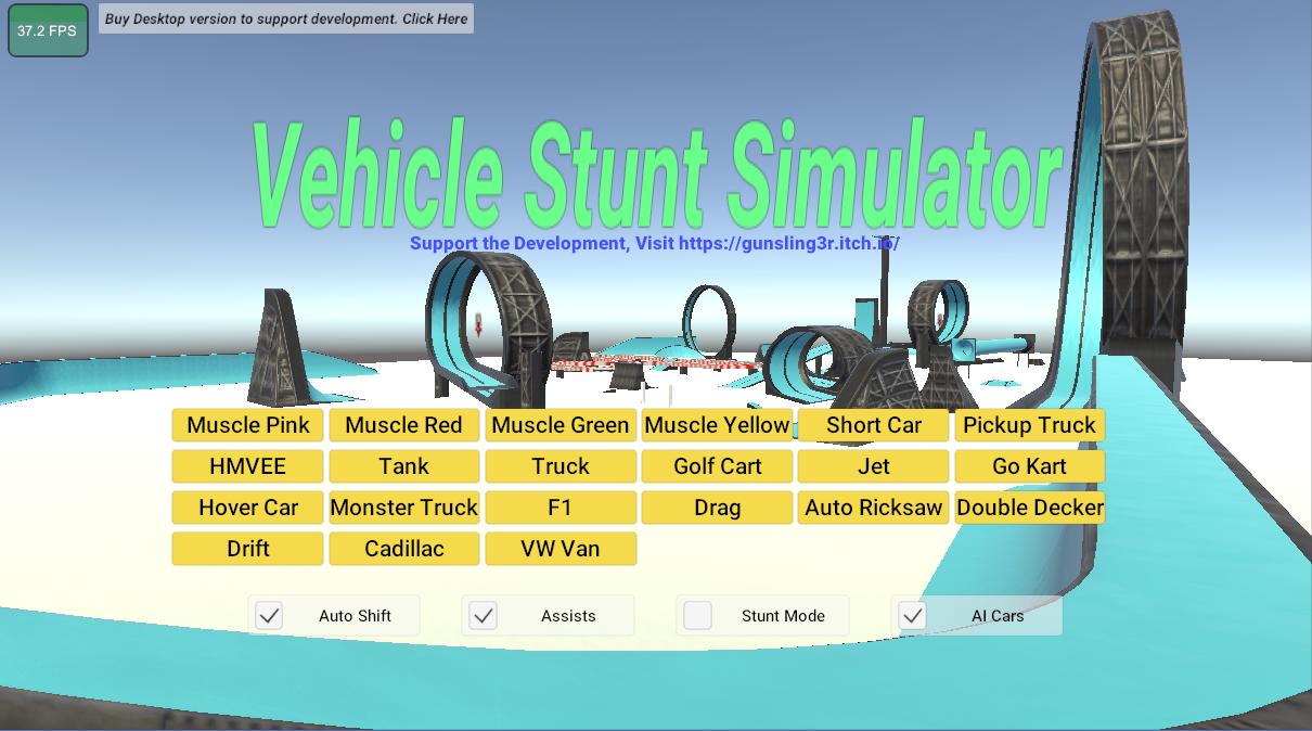 Vehicle Stunt Simulator ITCHO