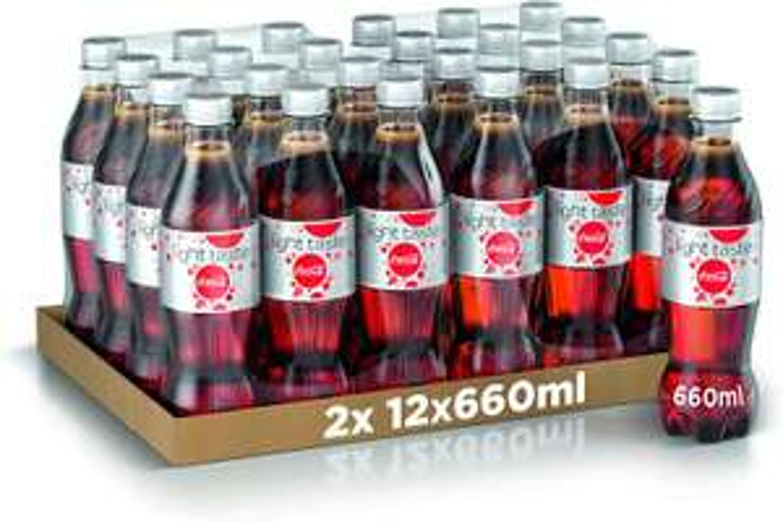 Coca-Cola Senza Caffeina 660ml x24 (Bottiglia Pet Riciclabile)
