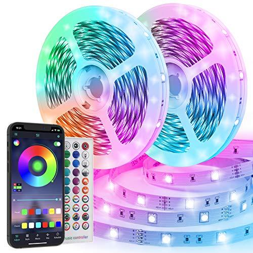 Striscia LED 20M Funzione Musicale Controllo APP