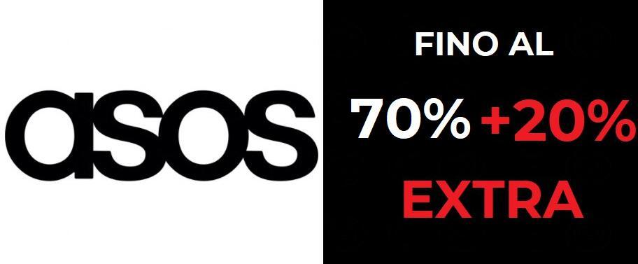 Sconti fino al 70% + 20% EXTRA - ASOS