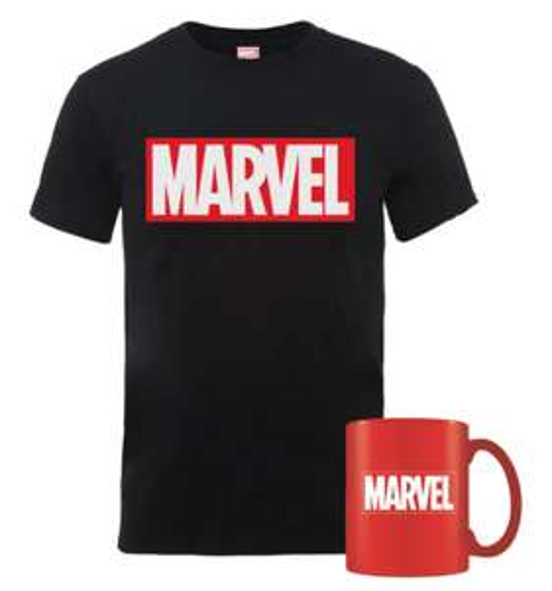 Bundle Marvel T-Shirt + Tazza 9.9€