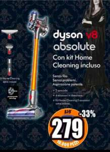 Dyson v8 Absolute con kit home cleaning