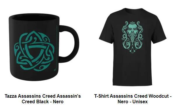 Bundle Assassin's Creed T-shirt + tazza