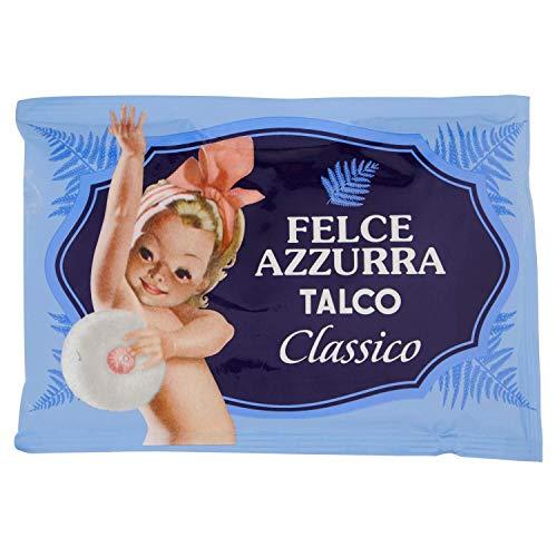 Felce Azzurra - Talco, Polvere Delicata Completamente Naturale, Profumo Classico - Busta, 100 gr