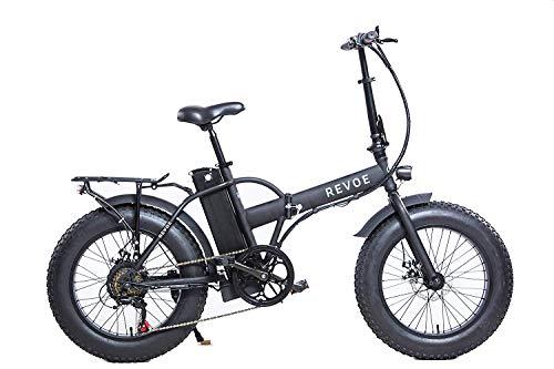 Bicicletta Elettrica Pieghevole 20', Nero