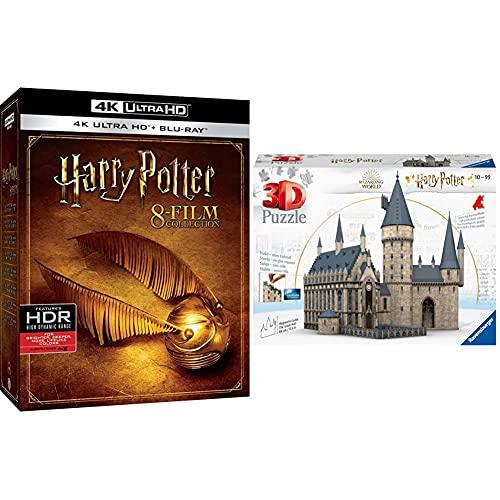 Harry Potter 1-8 Box+ Ravensburger Puzzle 3D Harry Potter 540 Pezzi