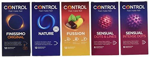Control Pleasure Mix Cofanetto preservativi assortiti