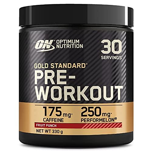 Optimum Nutrition Gold Standard Pre Workout, Fruit Punch