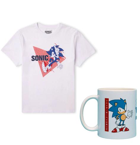 Bundle Sonic T-Shirt + Tazza 9.9€