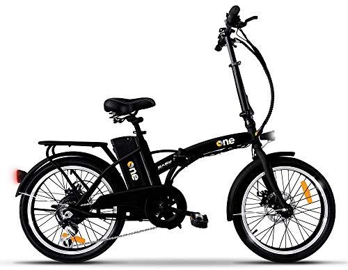 """the one Bicicletta Elettrica Pieghevole A Pedalata Assistita 20"""" 250w Easy"""