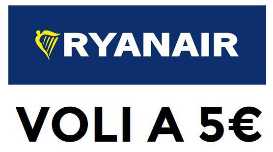 Voli a 5€ con Ryanair
