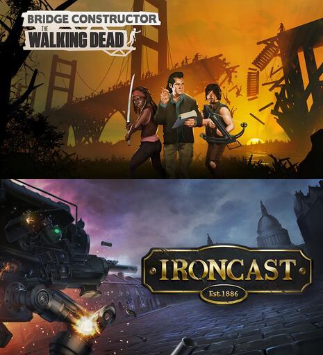 Epic Games - Giochi PC Gratis : Bridge Constructor: The Walking Dead & Ironcast