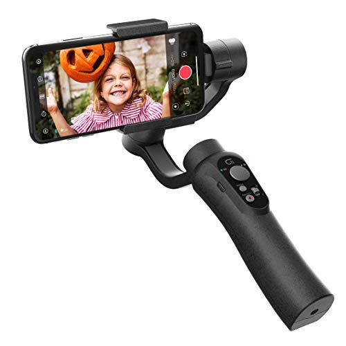 SStabilizzatore Smartphone, Controllo zoom integrato, gimbal cardanico palmare a 3 assi