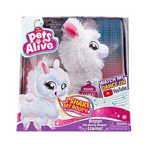 Zuru Pets Alive Lama Serie 1 9515 - Lama, oscillata con testa e retro