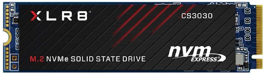 SSD PNY NVMe 500GB M.2 57.5€
