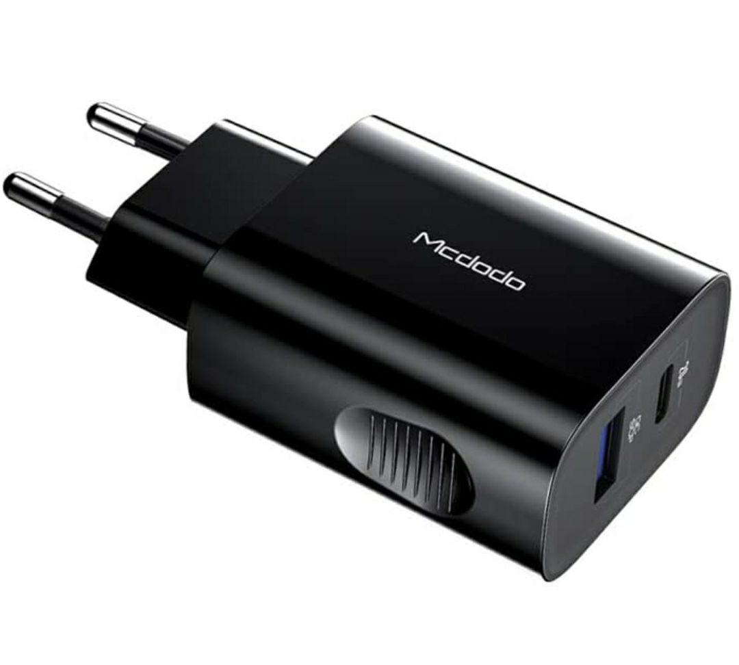 Caricatore USB a 2 porte QC 3.0 USB C 20 W Power Delivery PD 3.0 ricarica veloce