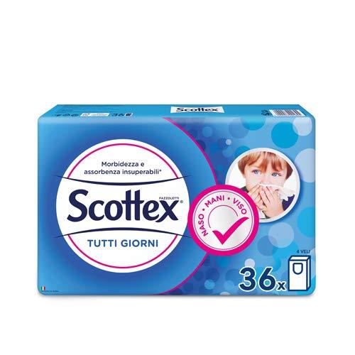 36 Pacchetti Fazzoletti Scottex