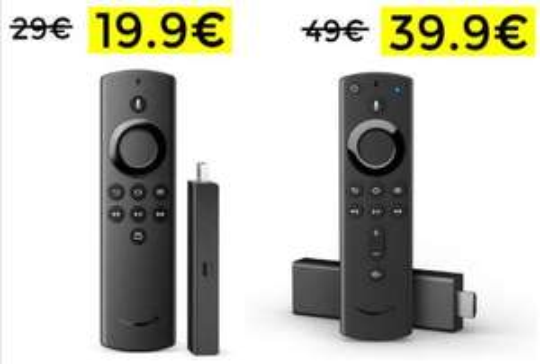 Fire Tv Stick Lite e 4K da Unieuro ed Amazon