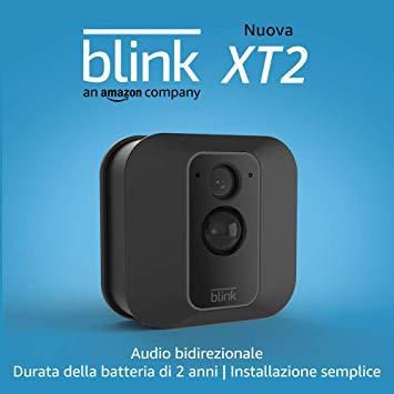 Nuova Blink XT2 | Telecamera di sicurezza per interni/esterni con archiviazione sul cloud