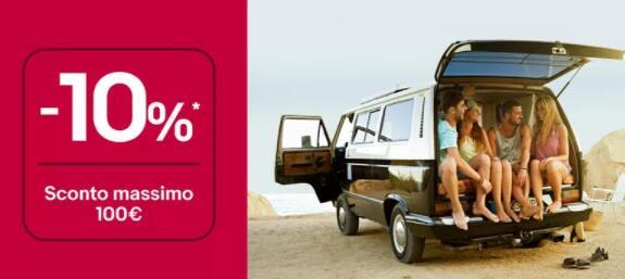 Coupon -10% per sistemare il tuo veicolo - eBay