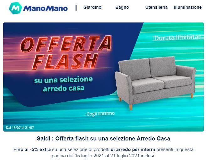 ManoMano - Sconto 5% extra