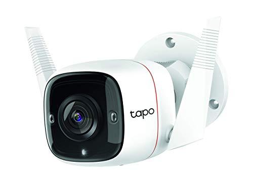 TP-Link Tapo Telecamera Wi-Fi Esterno FHD 1296P Alexa