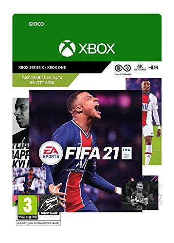 FIFA 21 Standard | Xbox One - Codice download (includes upgrade digitali per Xbox Series X)