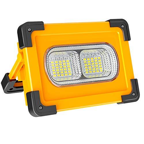 Faro Luce LED Portatile 60W, + Sveglia Digitale in omaggio