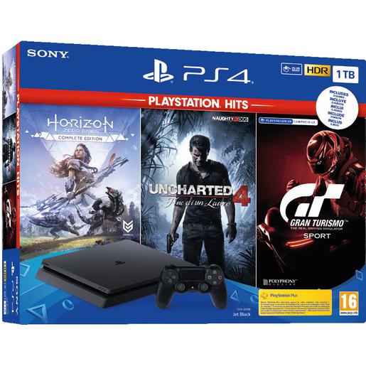 PS4 1TB con 3 Giochi 232€