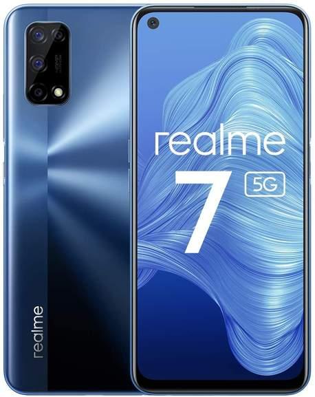 Realme 7 5G 8GB + 128GB 161€