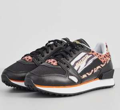 Puma MILE RIDER - Sneakers basse - bianco