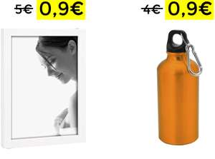 Cornice in Legno Borraccia alluminio 400Ml 0.9€