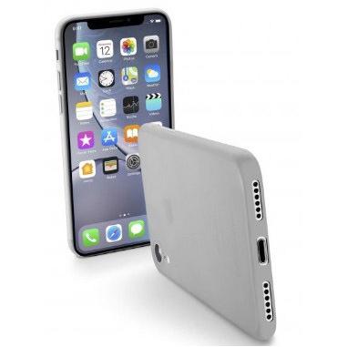 Cellularline Zero - iPhone XR Custodia rigida trasparente ultrasottile Trasparente